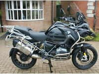 BMW 1200 GS ADVENTURE TRIPLE BLACK - 2017 AS NEW