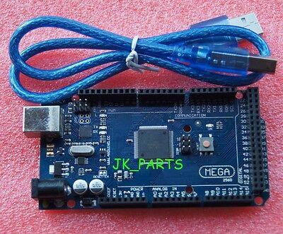 Mega2560 R3 Atmega2560-16au Atmega16u2 Board Arduino-compatible Free Usb Cable