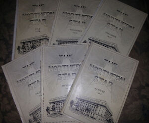 c1926 THE NORTHERN STAR issues LOT OF 6 OTTAWA