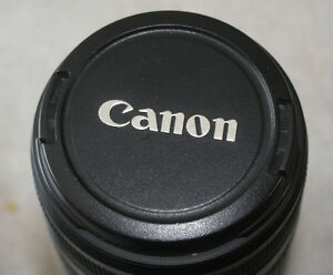 Canon EF-S 55-250mm 1:4-5.6 camera lens with image stabilizer