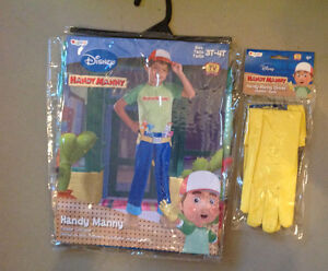 New-in-Package Handy Manny Costume