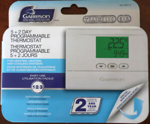 like new 5+2 day programmable thermostat 24V