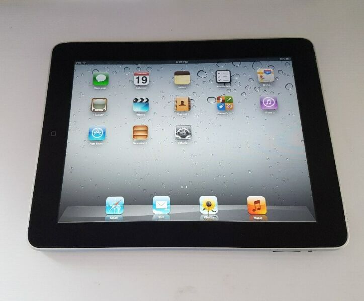 Steve Jobs, The Original iPad by Apple Inc, Model A1219, 9.7 inch, 16GB, Wifi, 1st Generation,