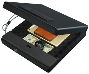 Stack-On PC-1690-B Large Portable Case with Biometric Lock