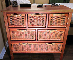 Beautiful Wicker Chest