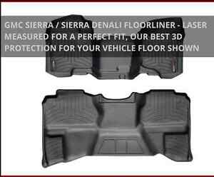 Weather tech floor mats for 08 sierra extended cab