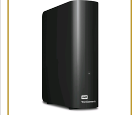 WD elements 4 TB HDD