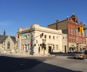 Heritage Building Office Space on Corner of Main and Water- Galt