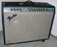 1974 Silverface Fender Twin Reverb - Not Re-issue