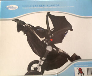 Adapters for city select stroller