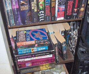 Stephen King Books Large Assortment for Sale
