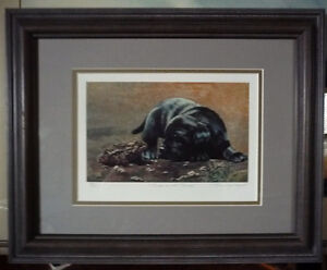 "Hand Signed, Titled by Listed Artist Tammy Laye ""Pup And Toad"""