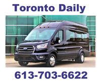 Everyday Rideshare Ottawa to Toronto Today 10 AM & 5 PM