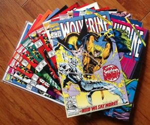 Wolverine Comic Books Near Mint-