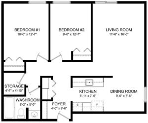 2 Bedroom Sunningdale Apartment