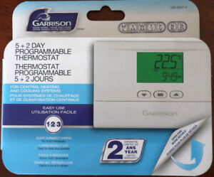 like new 5+2 day programmable thermostat 24V (was $35)