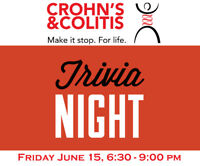 Trivia Night Fundraiser for Crohn's and Colitis Canada