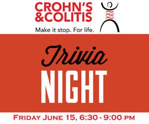 Trivia Night Fundraiser for Crohn's and Colitis Canada