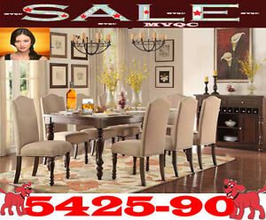 casual kitchen & dinette height tables, 5 pc dining sets,5425-90