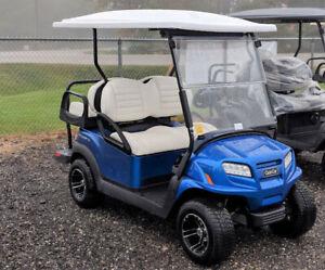 2019 CLUB CAR ONWARD METALLIC BLUE GAS GOLF CART
