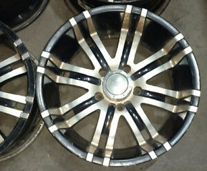 """Set of 18"""" Eagle alloy rims with 5x139.7 bolt pattern"""