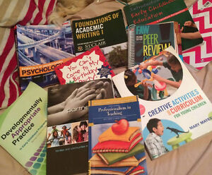 First year Early Childhood Education books. ECE Windsor Region Ontario image 1