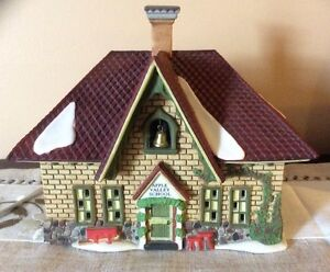 Dept 56 New England Village - Apple Valley School - REDUCED