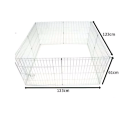 Ellie-Bo Easy-Up 8 Piece Puppy Rabbit Play Pen 61cms High