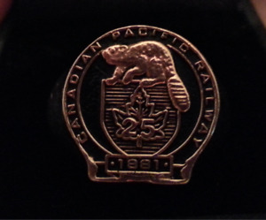 Canadian Pacific Railway Ring