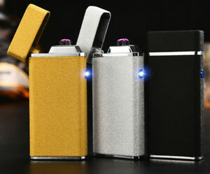 USB RECHARGEABLE LIGHTER double arc!**New*