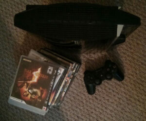 80GB Backwards Compatible PS3 with 8 Games