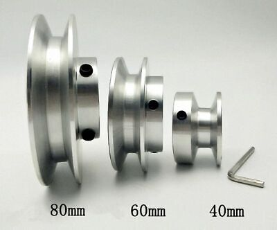 Od 40-80mm Hole Dia 8-25mm V-groove Step Pulley - Select Mms