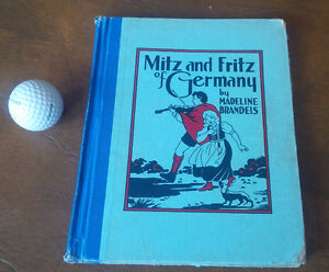 Mitz and Fritz of Germany, Madeline Brandeis, circa 1933
