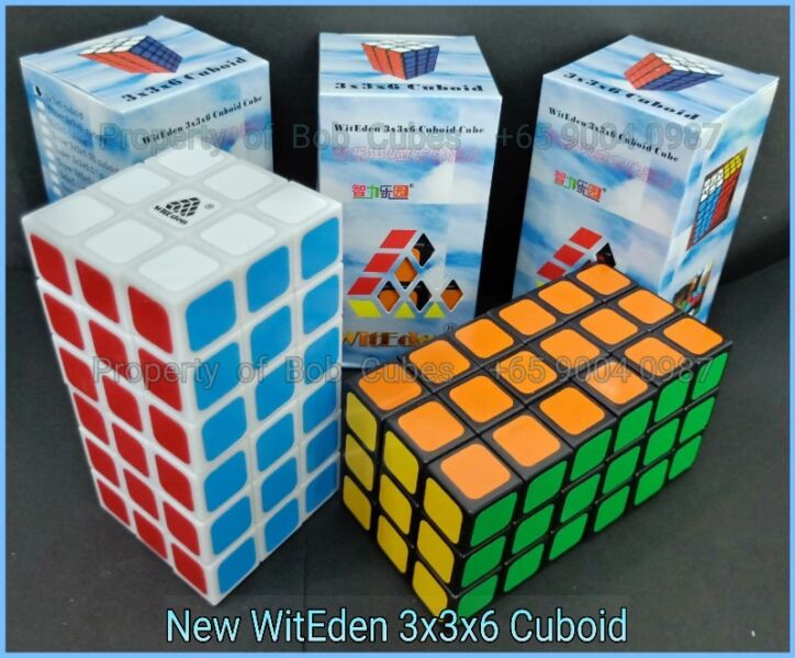 - - - New WitEden 3x3x6 II Cuboid for sale ! Brand New Cube !