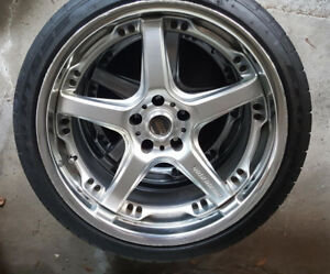 Volk Racing  GTS wheels 19 - 5x114.3