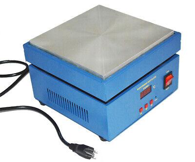 Electronic Hot Plate Preheat Preheating Station Aluminium Alloy Heating Plate