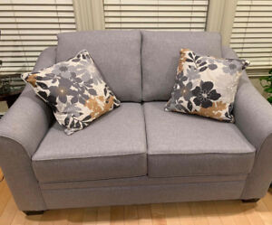 Brand New Grey Sectional And Love Seat Couches!  $3500