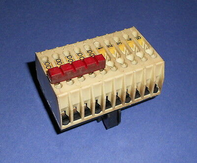 Telemecanique Db6cd1 Terminal Block Wjumper 30 Amp 600 V Super Fast Shipping