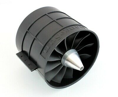Changesun Electric Ducted Fan 120mm 12 Blade 8mm shaft adapter EDF Unit for RC J Edf Electric Ducted Fan