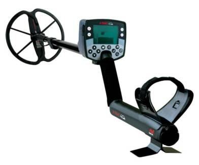 Minelab E-Trac metal detector Gold FBS VLF multi frequency