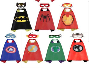 Brand New Capes with Masks - $7 each
