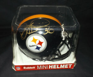Jerome Bettis Signed Mini-Helmet Pittsburgh Steelers NFL HOF