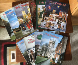 10 This England Vintage Magazines , Gardens, Biography, History