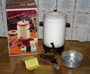 42 cup Electric Coffee Maker Urn Pot Percolator Party Size
