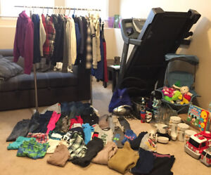 QUICK SALE.... CLOTHES LIKE PANTS/TOP NEW & SLIGHTLY USED, ETC..