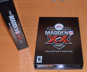 """MADDEN """"XX"""" 20 Years of Football: Collector's Edition 1989-2009"""