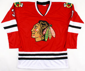 Signed Chicago Black Hawks Jersey - Pierre Pilot