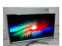 "Samsung Chrome 40"" Smart Led Ultra Slim, Delivery"