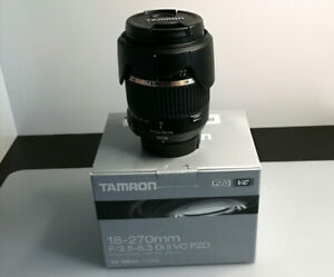 Tamron 18-270 superzoom Lens with VC for Nikon