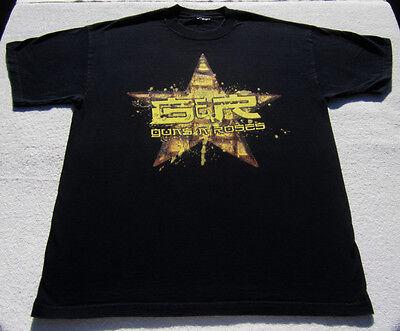 GUNS N' ROSES Pukklepop 2002 Festival LARGE T-SHIRT belgium concert